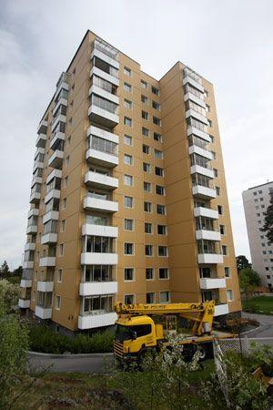 Tvätt och målning av balkonger åt Brf i Södertälje. 669f0f75e2216